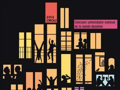 Couverture de la BD 2012.