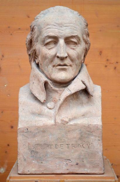 Buste d'Antoine Destutt de Tracy