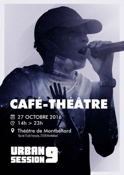 Café-théâtre de l'Urban Session le 27-10-2016