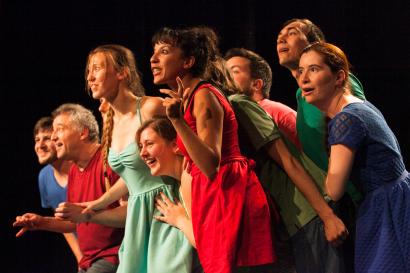 """Photo du spectacle """"Éclats"""" du Théâtre universitaire"""