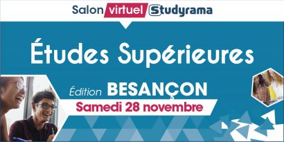 Studyrama : salon virtuel des études supérieures de Besançon
