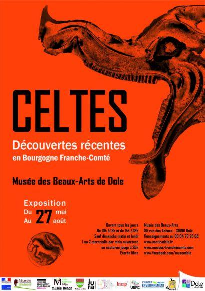 affiche exposition Celtes