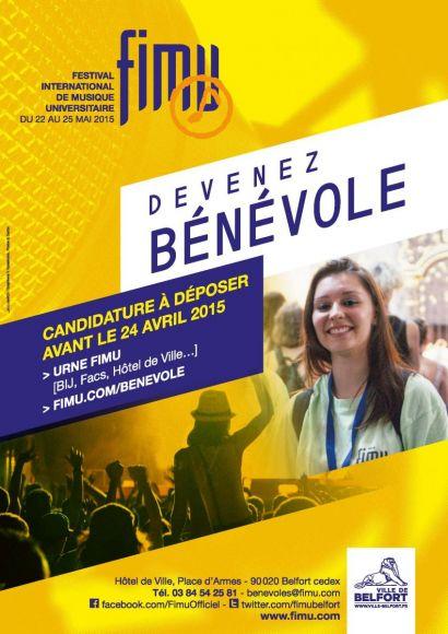 Devenez bénévoles pour le FIMU 2015