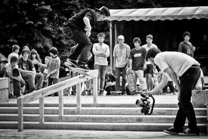 Photo de skateurs