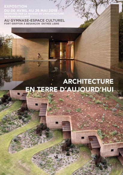 Visuel exposition Architecture en terre d'aujourd'hui / Conférence de Dominique Gauzin-Müller
