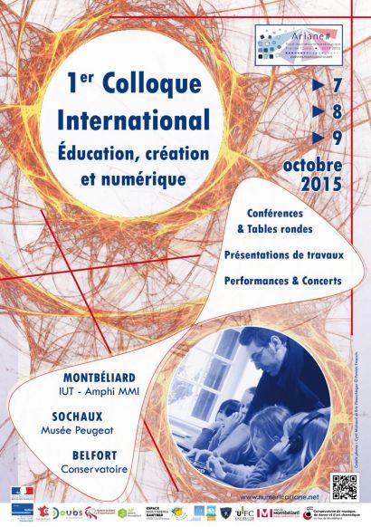 Ariane#: 1er Colloque international sur l'éducation, la création et le numérique