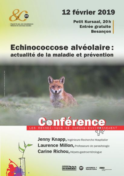 affiche conférence Echinococcose