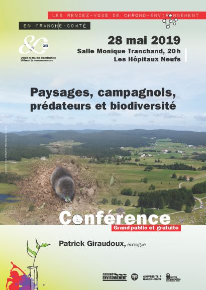 affiche conférence Campagnol