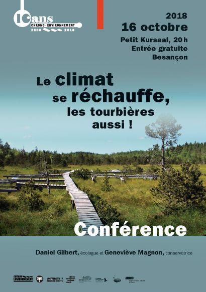 affiche conférence tourbière Besançon