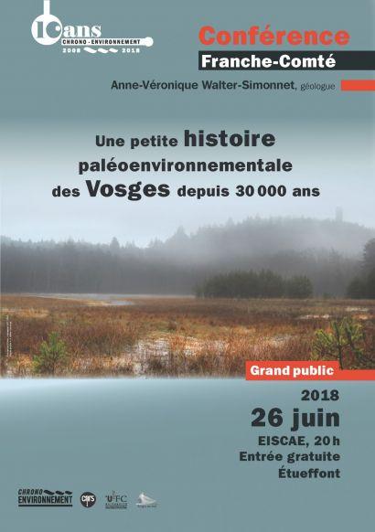 affiche conférence histoire Vosges