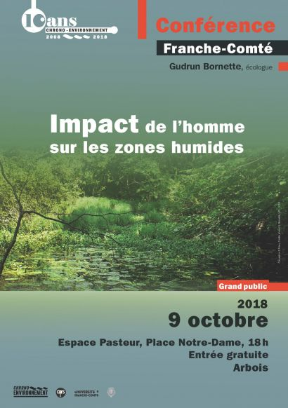 affiche conférence zones humides