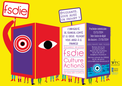 Affiche FSDIE Culture-ActionS