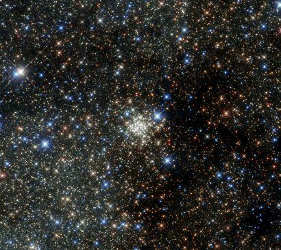 Image de la Voie lactée prise par le télescope Hubble
