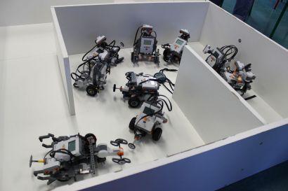 Challenge robotique des lycéens au département Mesures Physiques de l'IUT de Belfort-Montbéliard