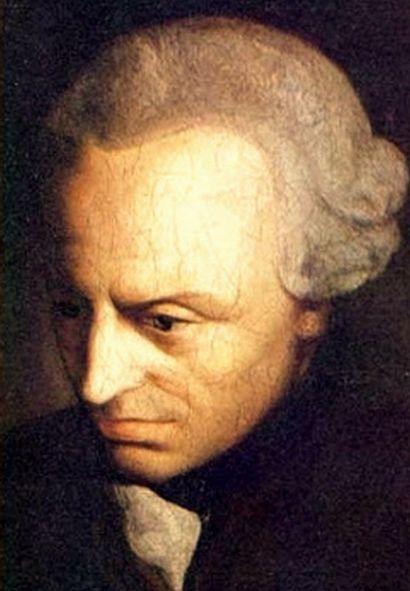 Portrait d'Emmanuel Kant