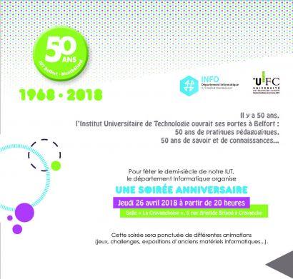 Le département Informatique fête les 50 ans de l'IUT