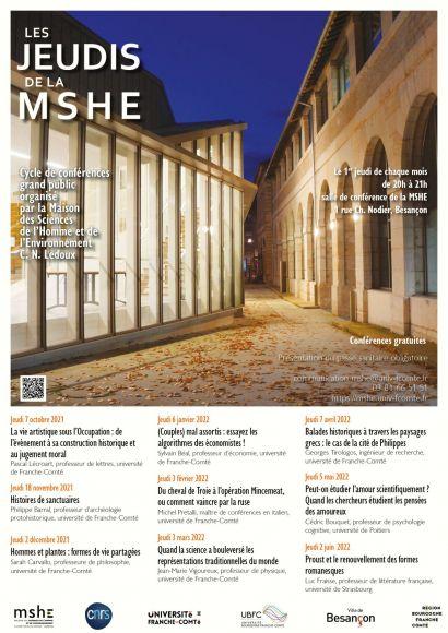 Programme des Jeudis de la MSHE