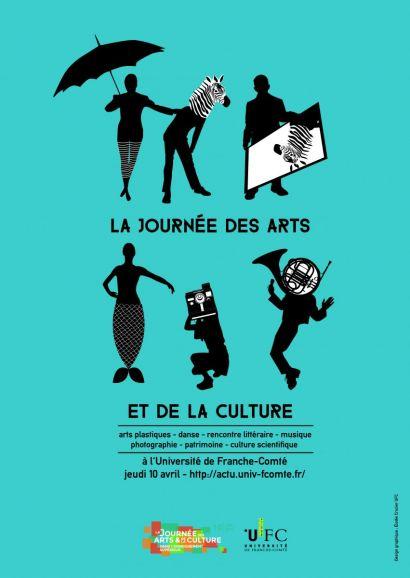 Affiche de la Journée des arts et de la culture