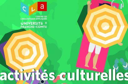 programme activités culturelles CLA juillet 2019