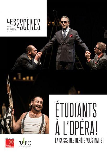 Etudiants à l'opéra