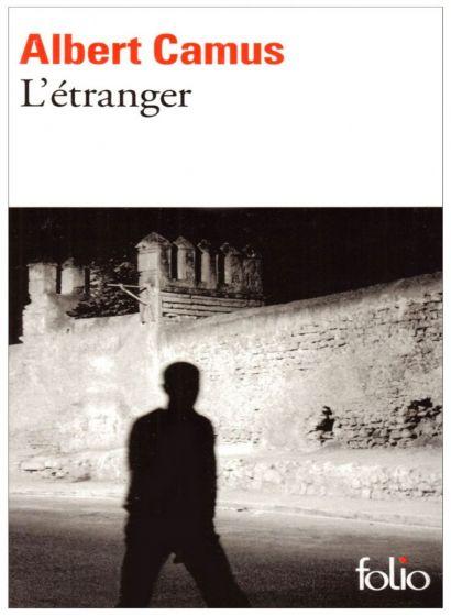 Couverture du livre l'étranger de Camus