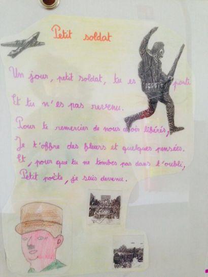 Poème extrait de l'exposition