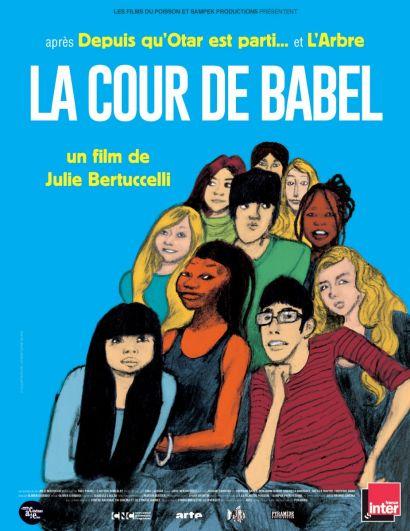 """Affiche du film """"La cour de Babel"""""""