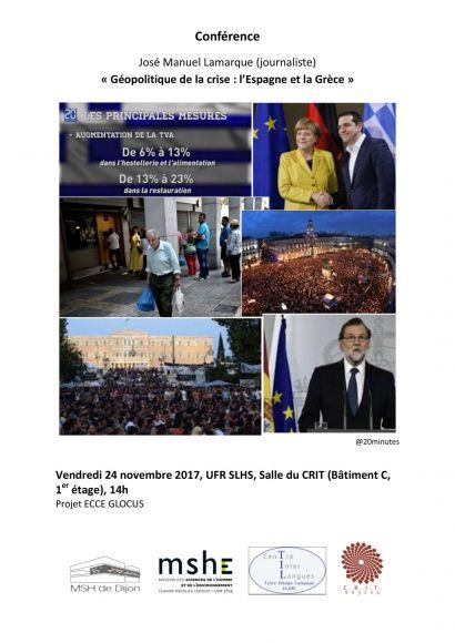 Affiche conférence Lamarque