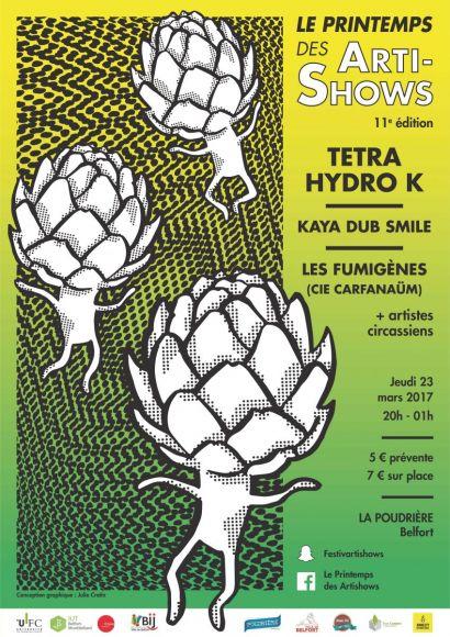 Le Printemps des Artishows aura lieu le 23 mars à Belfort.