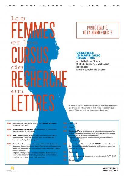 Les femmes et les cursus de la recherche