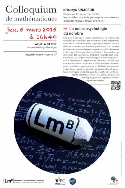 Affiche colloquium de mathématiques