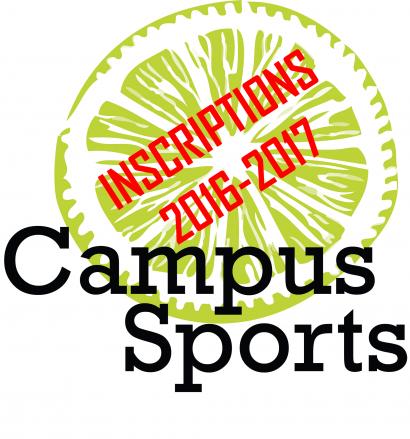 Visuel pour les inscriptions à Campus Sports