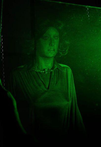 hologramme d'un mannequin de mode
