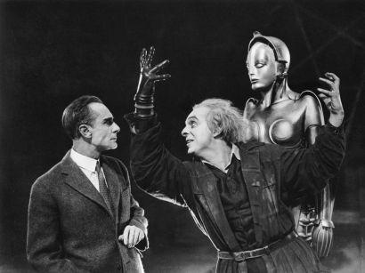 Scène du film «Metropolis» de Fritz Lang