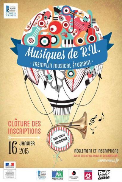 Tremplin Musiques de RU 2014-2015