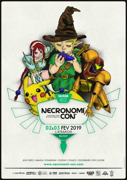Nécronomi'con : l'événement aux 6000 visiteurs revient !