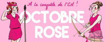 Octobre rose avec Ala conquête de l'Est et les étudiants de la licence pro MOSEL