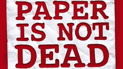 Visuel Paper is not dead #2