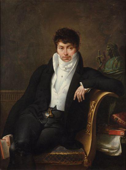 Portrait de Cabanis peint par Blondel