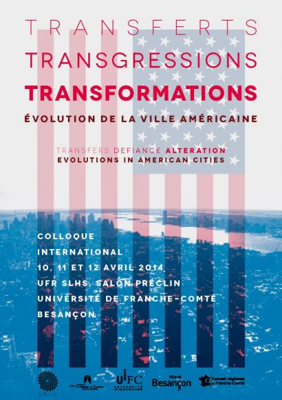 Programme colloque évolution de la ville américaine