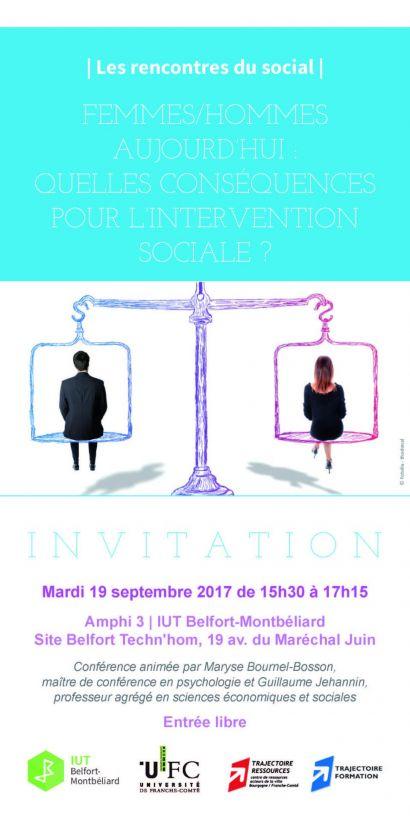 Rencontres du social - IUT de Belfort-Montbéliard
