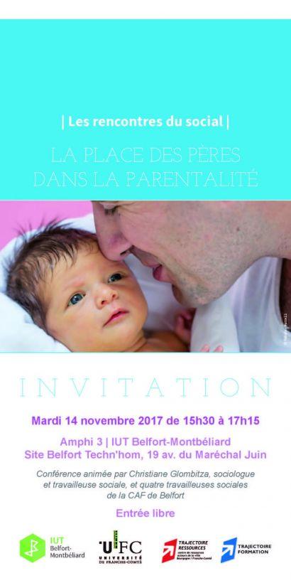 La paternalité dans la parentalité: rencontres du social à l'IUT de Belfort-Montbéliard