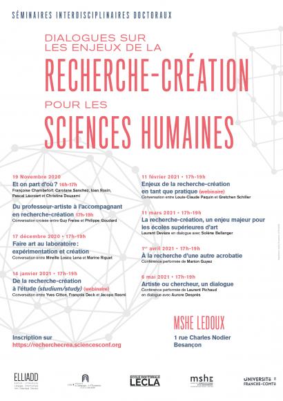 recherche-création pour les sciences humaines