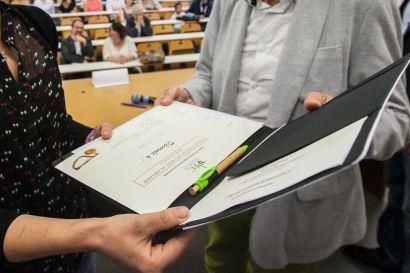 Cérémonie de remise des diplômes de DAEU