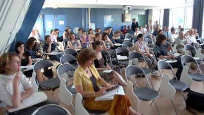 simulation colloque scientifique salle Quemada