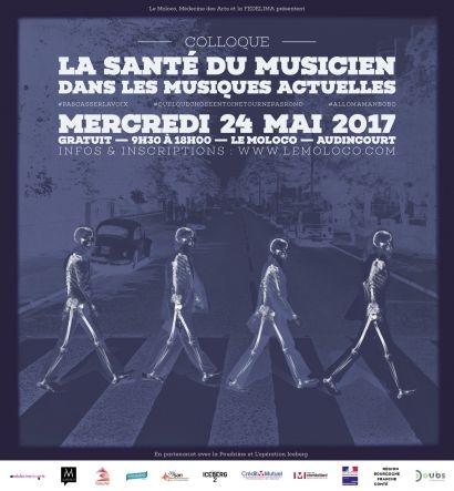 Un enseignant de l'IUT de Belfort-Montbéliard participe au colloque sur la santé des musiciens de musiques actuelles