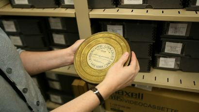 Photo d'une bobine de film extraite du film «Side by Side«