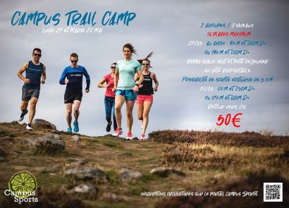 affiche campus trail camp