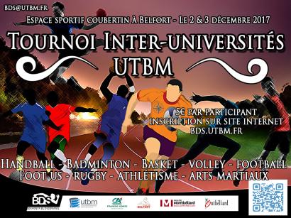 Tournoi multisport inter-universités du BDS de l'UTBM