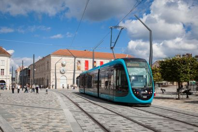 Tram à Besançon